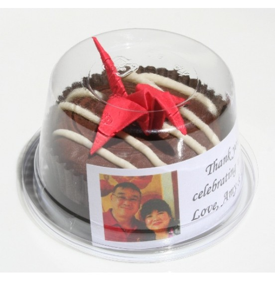 Chocolate Covered Oreo Cookie - Red Paper Crane