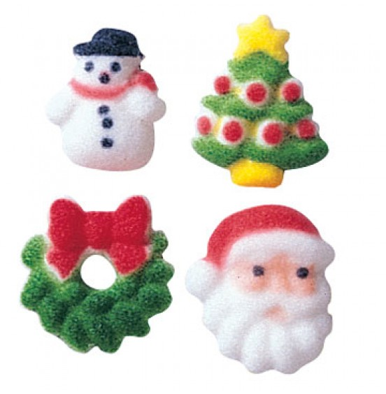 Chocolate Fortune Cookies - Christmas Decoration