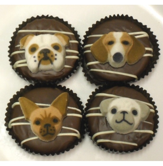 Chocolate Covered Oreo Cookie - Assorted Dogs