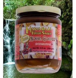 Hawaiian Fudge Sauce - 100% Kona Coffee