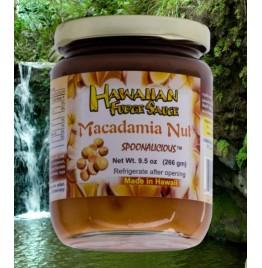 Hawaiian Fudge Sauce - Macadamia Nut