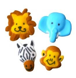 Chocolate Covered Oreo Cookie - Jungle Animals