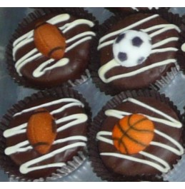 Chocolate Covered Oreo Cookie - Sports Decoration